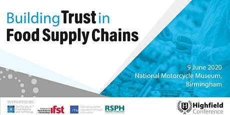Building Trust in Food Supply Chains tickets