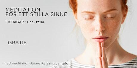 Meditation för ett stilla sinne (gratis) tickets