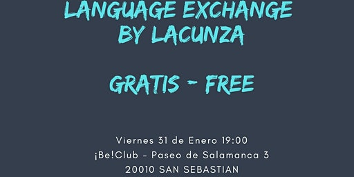 FREE Language Exchange by Lacunza IH