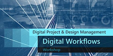 Digital Project & Design Management Workshop - Digital Workflows #2 tickets