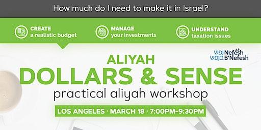 Aliyah Dollars & Sense: Los Angeles