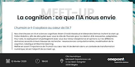 La cognition : ce que l'IA nous envie billets