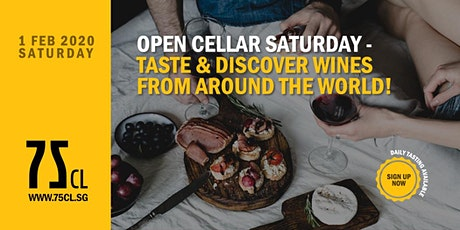 Open Cellar Saturday – Taste & Discover Wines from Around the World! tickets