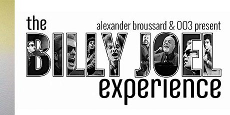 Nieuwe datum:The Billy Joel Experience @ De Cactus  31/10/2020 tickets