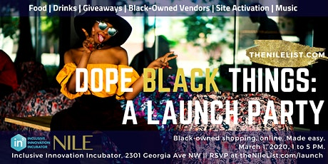 Dope Black Things: A Launch Party! tickets