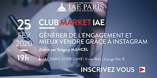 Market IAE - Grégory MANCEL