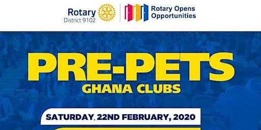 ROTARY DISTRICT 9102 PRE-PETS (GHANA)