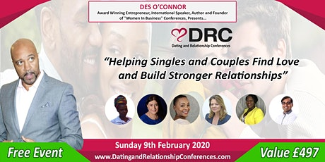 FREE Relationships & Dating Event tickets