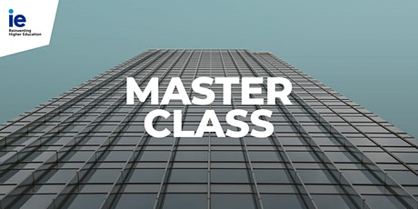 IE Chat with Flavio Tejada, Director of the Master in Real Estate Development tickets