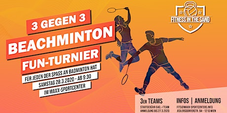FITS - BEACHMINTON FUN-TURNIER Tickets