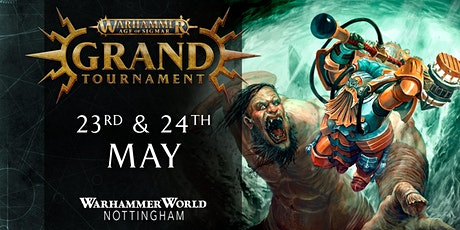Warhammer Age of Sigmar Grand Tournament – May 2020 tickets