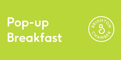 The 'Sparkling' Pop-up Breakfast