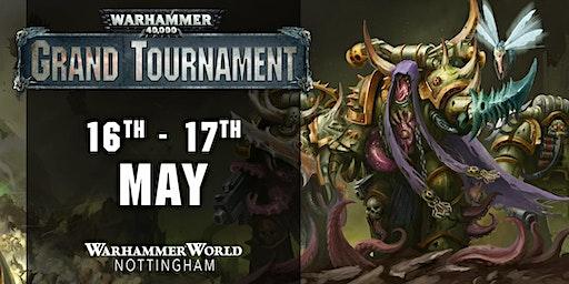 Warhammer 40,000 Grand Tournament, May 2020