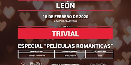 Trivial Especial Películas Románticas en Pause&Play Leon Plaza entradas