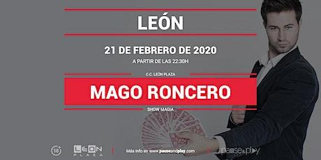 Show Magia Mago Roncero en Pause&Play León Plaza entradas