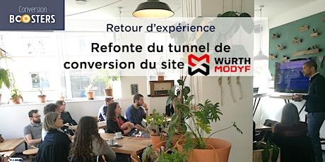 [Café CRO] Refonte du tunnel de conversion de Würth Modyf : Témoignage et clés du succès billets