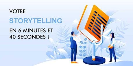 PETIT-DÉJEUNER : « Votre storytelling en 6 minutes et 40 secondes ! » billets