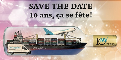 10 ans NV Logistics tickets