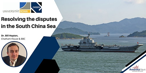 Resolving the disputes  in the South China Sea