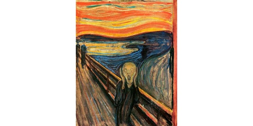 Edvard Munch's The Scream (Orange)