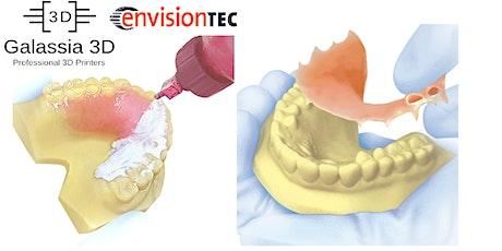 Workshop stampa 3D Dentale Envisontec per creazione apparecchi ortodontici biglietti