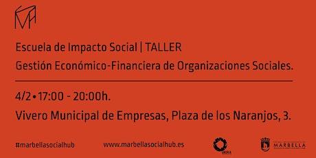 Taller Gestión Económico-Financiera de Organizaciones Sociales entradas