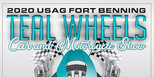 4th Annual Teal Wheels - Car and Motorcycle Show