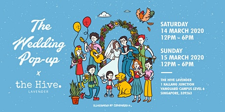 The Wedding Popup x The Hive Lavender V2 tickets