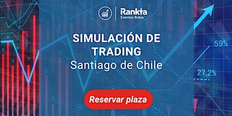 Simulación de trading en vivo entradas