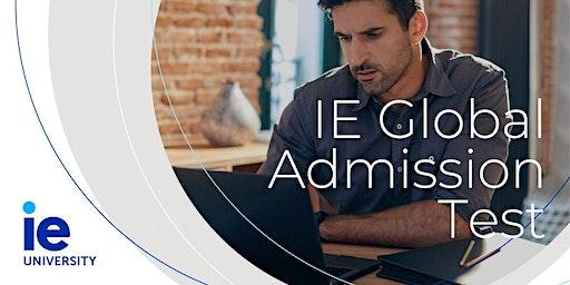 IE Global Admissions Test  - Phnom Penh
