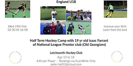 Hockey Camp -Isaac Farrant  ( England U18 -National League Player) tickets