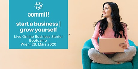 commit!Live: build a business | grow yourself tickets