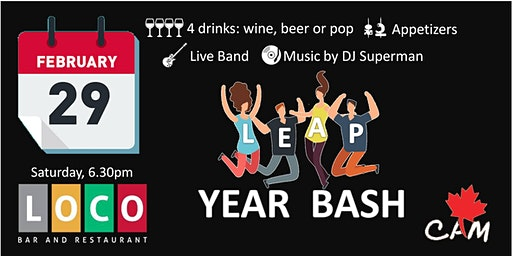 Leap Year Bash at Loco Mexican Bar and Restaurant