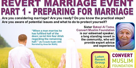 Revert Marriage Event - Preparing for Marriage (Part 1) tickets
