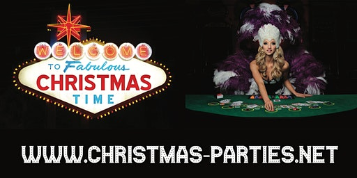 Las Vegas 90's Christmas Party Manchester 2020