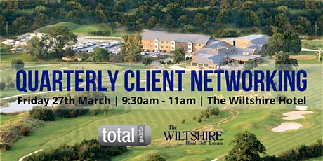 Quarterly Client Networking tickets