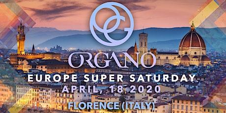 Organo Europe Super Saturday biglietti