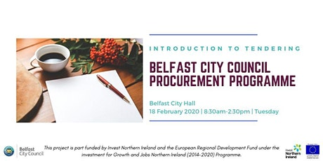 Belfast City Council Procurement Programme- Introduction to Tendering tickets