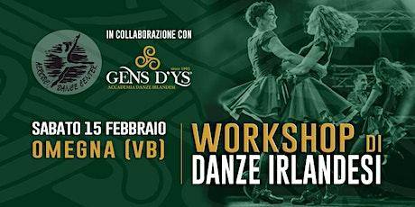 Omegna (VB) - Danze Irlandesi biglietti