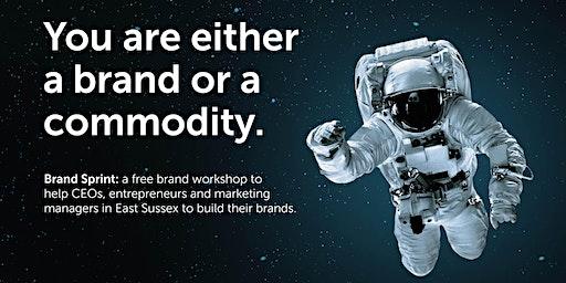 Brand Sprint: a free brand workshop - Bexhill