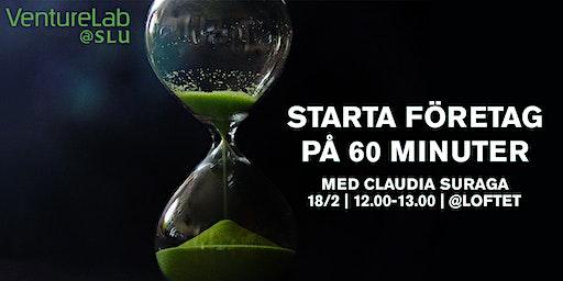 Starta Företag på 60 Minuter!