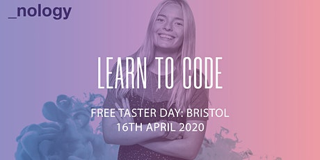 Free Coding Taster  Session with _nology - Bristol 16/04/20 tickets