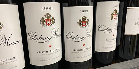 Chateau Musar, Lebanese Wine Tasting Evening tickets