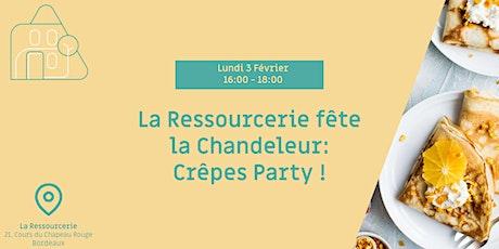 Fêtons la chandeleur avec une Crêpes party à la Ressourcerie ! billets