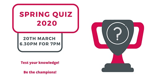 EYECAN's Spring Quiz 2020