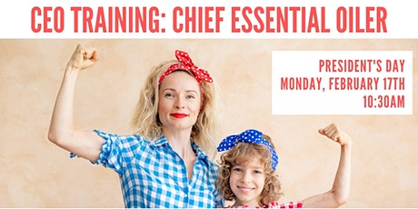 CEO Training: Chief Essential Oiler tickets