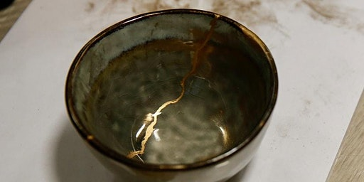 kintsugi making at wagamama oxford