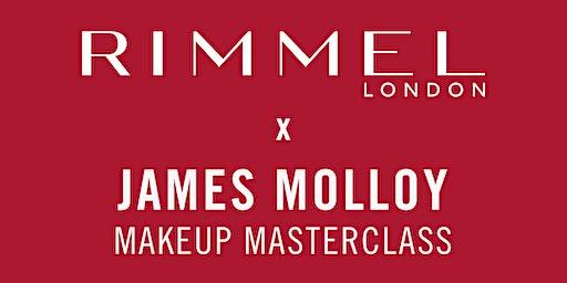 Rimmel x James Molloy Makeup Masterclass
