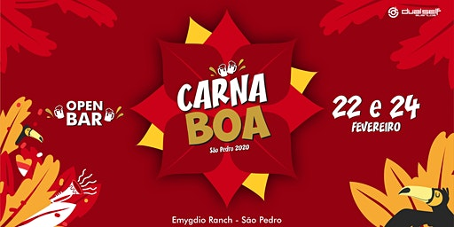 CARNABOA 2020 - OPEN BAR