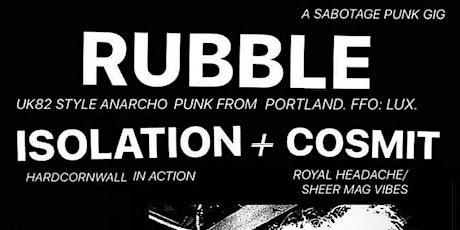 Rubble tickets